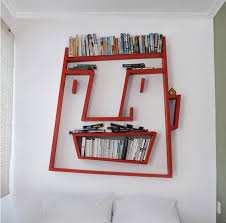Cool Bookcase Ideas Furniture Creative Bookcase Decorating With Box Standing And