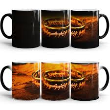 Color Changing Mugs by The Lord Of The Rings Mug Coffee Mugs Heat Sensitive Cold Heat