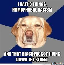 Homophobic Meme - dont worry im not racist or homophobic by recyclebin meme center