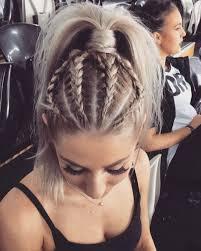large hair pleats best 25 braided ponytail ideas on pinterest braid ponytail
