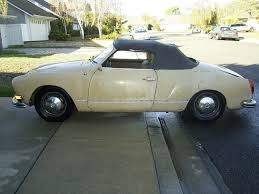 1971 karmann ghia 1971 vw karmann ghia convertible caged in