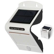 long range motion detector light water proof outdoor wall mounted security solar motion sensor led