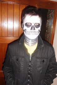 Cool Halloween Makeup Ideas For Men by Halloween Partyface Page 4