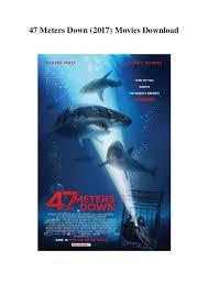 47 meters down 2017 movies download 1080p hd