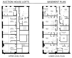 floor plans for basements floorplans auction house house plans 62354