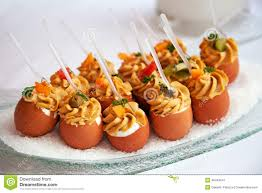 food for cocktail on wedding party stock photo image 46443047