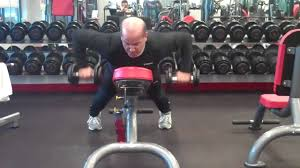 Incline Bench Dumbbell Rows Dumbbell High Row On Incline Youtube