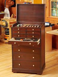 Rolling Tool Cabinets Heirloom Rolling Tool Cabinet Woodworking Plan From Wood Magazine