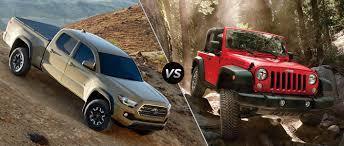 toyota tacoma suv 2016 toyota tacoma trd off road vs 2016 jeep wrangler near