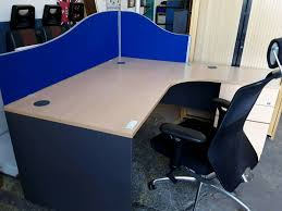 Office Desks Newcastle Corner Office Desk With Pedestal Several Available Price Each