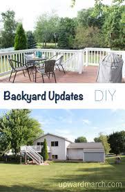 Backyard Oil Backyard Updates Diy