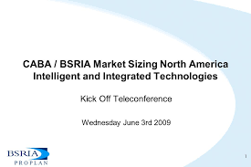 caba bsria market sizing north america intelligent and