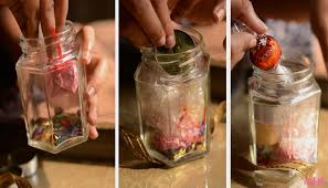 Diy Home Decor Indian Style Diy Gift In A Jar Diwali Edition Style File