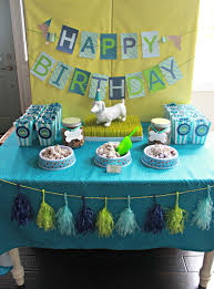 it u0027s a pawty puppy party first birthday part 1 delightfully noted