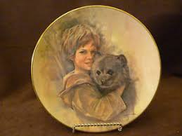 leo jansen vintage friends the prince tatters series collector plate
