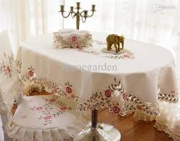 dining table chair covers wholesale fashion elliptical table cloth oval dining table cloth