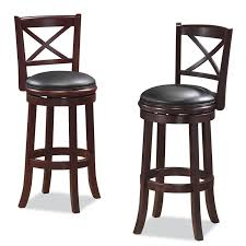 24 Inch Chairs With Arms Boraam Florence 24 In Swivel Counter Stool Hayneedle