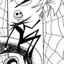 coloring pages nightmare before christmas sally free coloring