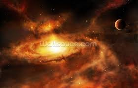 spiral galaxy nebula wallpaper wall mural wallsauce save your design for later