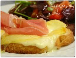 la cuisine de nelly tartine reblochon et jambon de savoie la cuisine de nelly