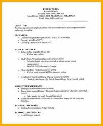 Resume Text Plain Text Resume Hitecauto Us