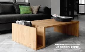 Table Designs Modernist Solid Wood Coffee Table U2013 Solid Oak Coffee Tables