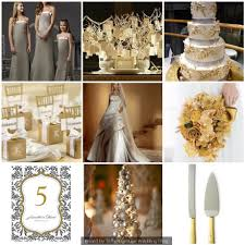 gold wedding theme silver and gold wedding theme winter wedding theme idea things