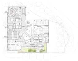 story and a half floor plans john and frances angelos law center behnisch architekten asg