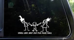 Car Meme Stickers - awesome family car stickers 05