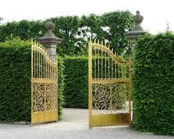 portails de jardin la porte de jardin et portail nous accueillent avant propriétaire