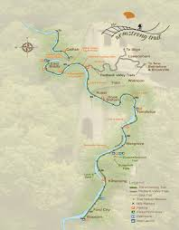 Armstrong Map Armstrong Trail U2014 Rosston Pa To Templeton Pa