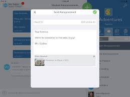 how does messaging work seesaw help center