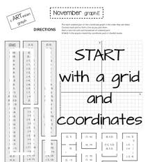 coordinate graphing activity thanksgiving and more for november by