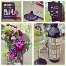 themed bridal shower decorations 15 best bridal shower images on marriage wine bottles