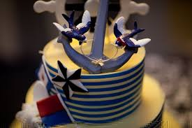 anchor wedding cake topper 3 dimensional tattoo anchor bird wedding cake topper by erin
