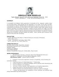 Best Resume Font Mac by Entry Level Qa Tester Resume Resume For Your Job Application