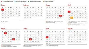 Calendario 2018 Argentina Ministerio Interior Vía País Cuántos Feriados Habrá En El 2017