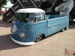 volkswagen caddy pickup lifted 1959 volkswagen vw split screen single cab pick up