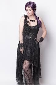 Black Lace Gothic Corset Dress By Punk Rave