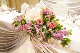 floral decor wedding head table floral decorations head table wedding