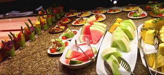 fruit selections at bacchanal buffet inside caesars palace las