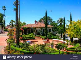 the spanish style guest house designed by julia morgan at the