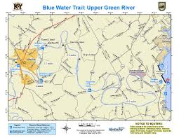 map kentucky lakes rivers kentucky department of fish wildlife green river