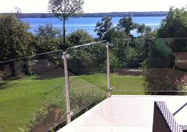 Decking Banister Beautiful Glass Railing By Invisirail