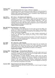 Resume About Me Examples by Steve Lenton Cv Master Active