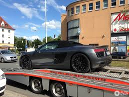 audi r8 v10 plus spyder 2017 14 august 2017 autogespot