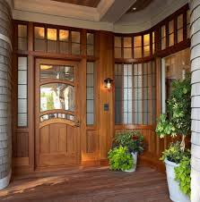 Exterior Wooden Doors With Glass by Wooden Doors And Windows Designs Exterior Wood Door With Glass