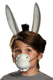 shrek donkey ears nose costume kit candy apple