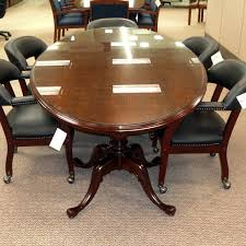 Vintage Conference Table Used Conference Tables For Saving Expenses Office Architect