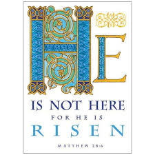 easter cards he is not here easter card the catholic company